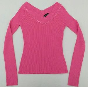 Wet Seal Long Sleeve Knit Top